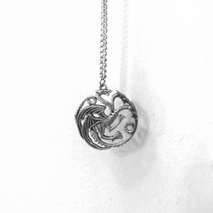 GOT Silver Mother of Dragons Costume jewelry